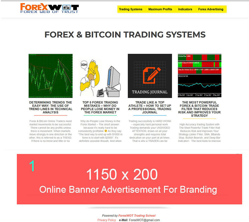 Forex Advertising - Banner and Email Ads for Forex Brokers
